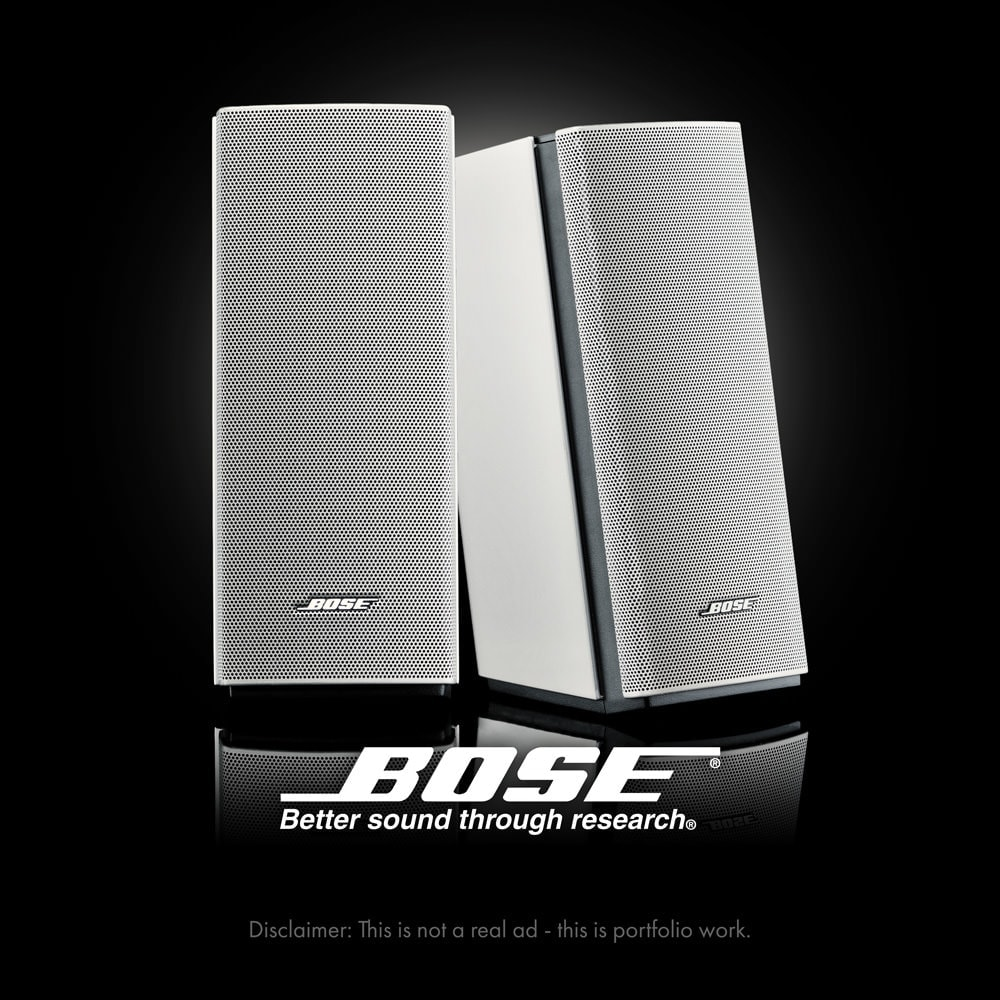 Product Shot - Rivonia, Johannesburg - Bose Speakers