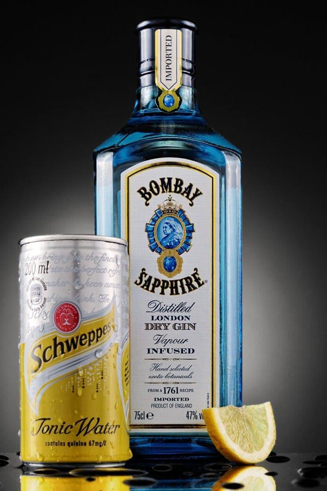 Product Shot - Rivonia, Johannesburg - Gin and Tonic