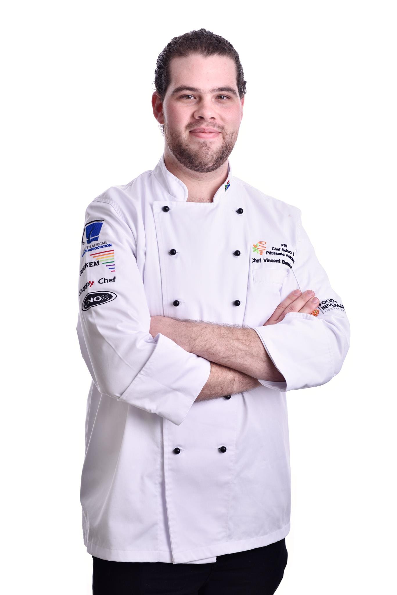 Headshot - Olivedale, Johannesburg - Chef Vincent