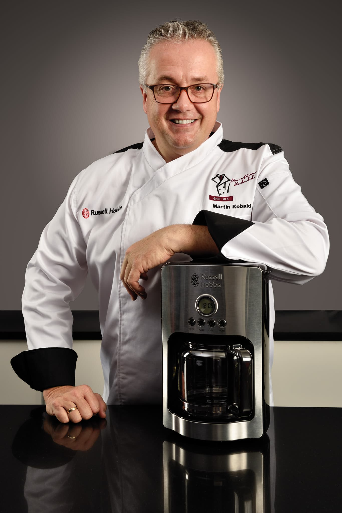 Headshot - Fourways, Johannesburg - Chef Martin for Russel Hobbs